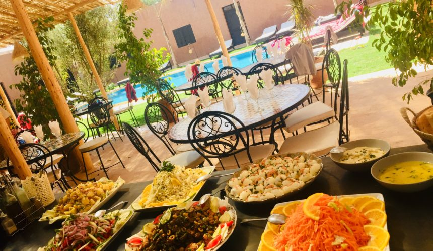 Table d'hôtes Marrakech, Coco Canel