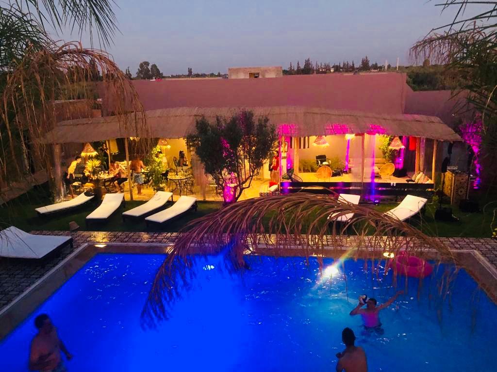 Piscine Coco Canel, Riad Marrakech