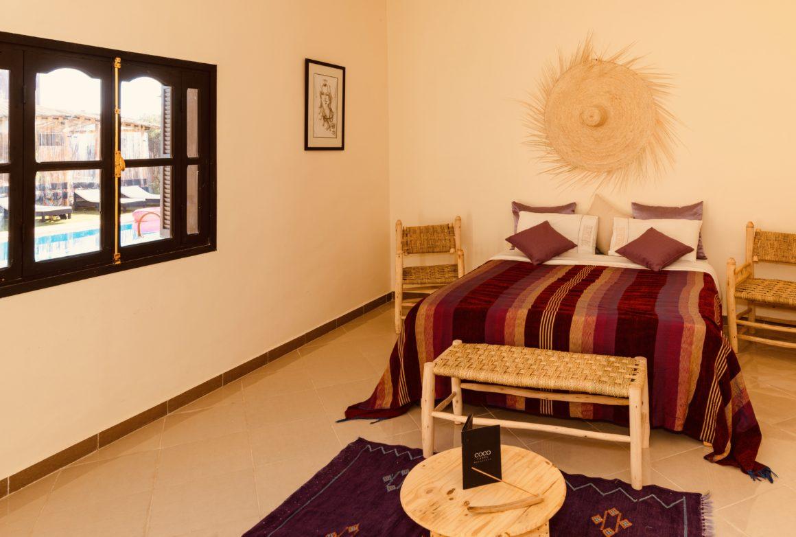 Chambre avec vue piscine, Coco Canel Marrakech