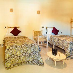 Chambre 2 lits simples – 30m²