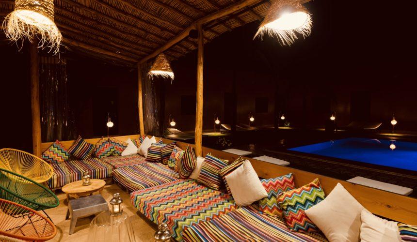 Piscine, Riad Marrakech, Coco Canel