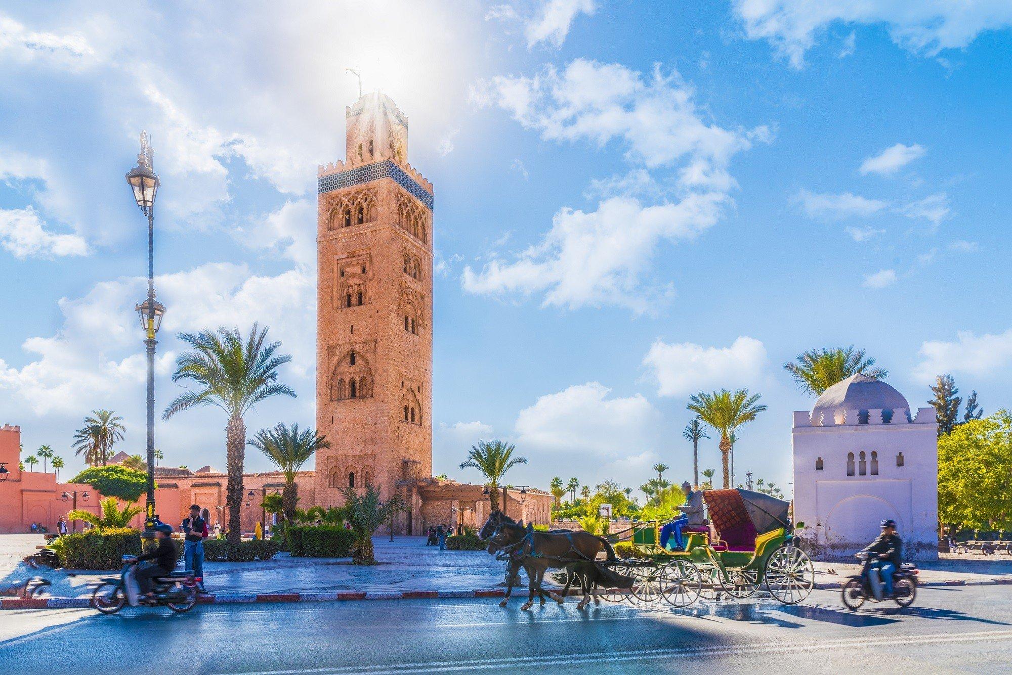 Marrakech, mosquée