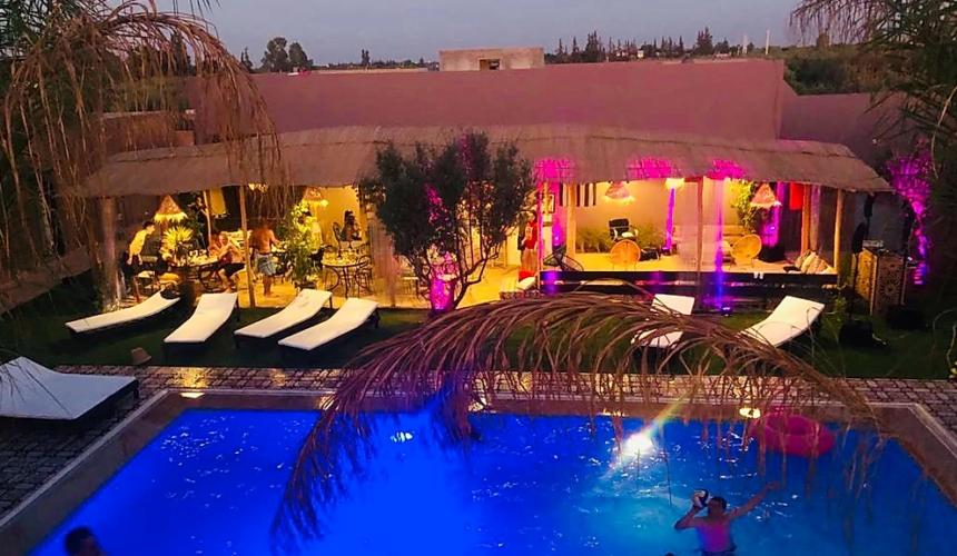 Privatisation Riad Marrakech, Coco Canel