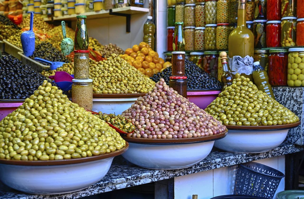 Olives, Maroc